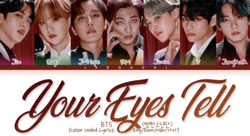「Your-eyes-tell」bts画像