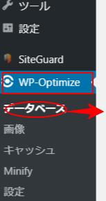 WP-Optimizerの使い方①